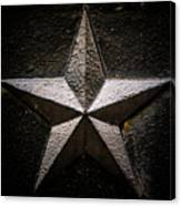 5-pointed Star Canvas Print