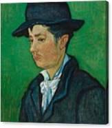 Portrait Of Armand Roulin Canvas Print