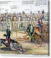 Presidential Campaign Canvas Print