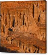 Red Cliffs  Canvas Print