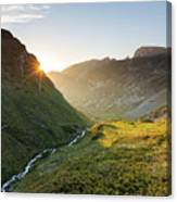 Rila Mountain Canvas Print