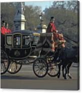 Royal Carriage In London Canvas Print
