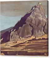Sanctuaries And Citadels Canvas Print