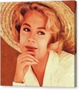 Sandra Dee, Vintage Actress Canvas Print