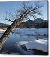 Swift River - White Mountains New Hampshire Usa Canvas Print