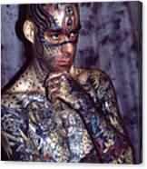 Tattoo Mike Canvas Print