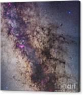 The Center Of The Milky Way Canvas Print
