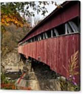 Vermont Covered Bridge Canvas Print