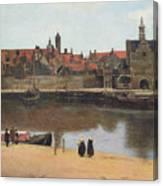 View Of Delft Canvas Print