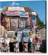 Village Of Coba Canvas Print