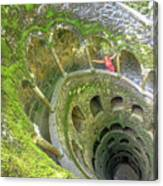 Woman Tourist In Sintra Canvas Print