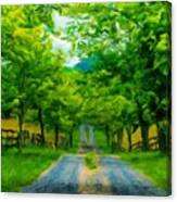 Landscape Definition Nature Canvas Print