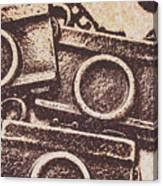 50s Brownie Cameras Canvas Print