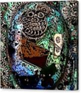 Abstract Orgone Canvas Print