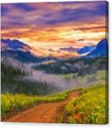 Art Landscape Canvas Print