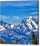 Color Landscape Canvas Print