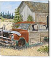 '51 Country Squire Canvas Print