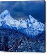 Modern Landscape Canvas Print