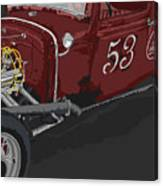 '53 Rat Rod Canvas Print
