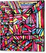 Jugglery Of Colors Canvas Print