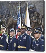 54th Regiment Bos2015_183 Canvas Print