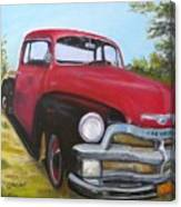 55 Chevy Truck Canvas Print
