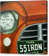 55 Iron Canvas Print