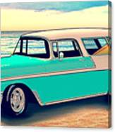 56 Nomad By The Sea In The Morning With Vivachas Canvas Print