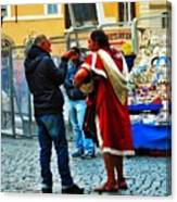 winter in Rome Canvas Print