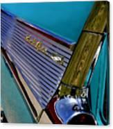 57 Chevy Bel Air Canvas Print