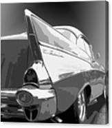 57 Chevy Horizontal Canvas Print