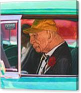 57 Chevy Man Canvas Print