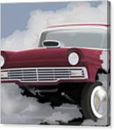 57 Ford Gasser Canvas Print