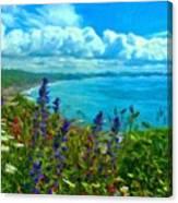 Landscape Lighting Canvas Print
