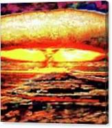 57 Megatons Canvas Print