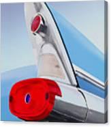57 Pontiac Tail Fin Canvas Print