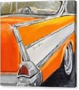 '57 Tangerine Canvas Print