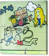 5719 - Graffiti Canvas Print