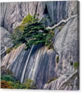 5786- Yellow Mountains  Canvas Print