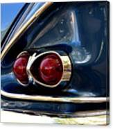 58 Bel Air Tail Light Canvas Print
