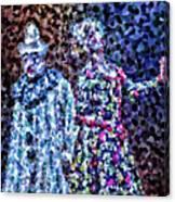 The Pain Of A Clown Canvas Print