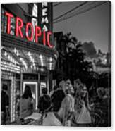 5828- Tropic Theater Canvas Print