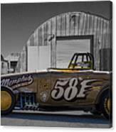 581 Bonneville Race Car Canvas Print