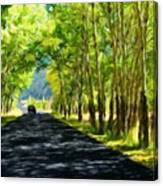 Nature Landscape Work Canvas Print