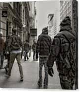 5th Avenue Walk Canvas Print