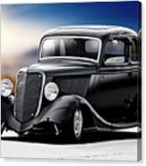 1934 Ford Five-window Coupe Canvas Print