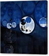 Abstract Painting - Onyx Canvas Print