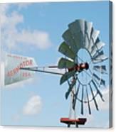 Aermotor Windmill Canvas Print