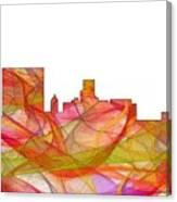 Augusta Georgia Skyline Canvas Print