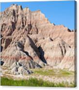Badlands National Park South Dakota Canvas Print